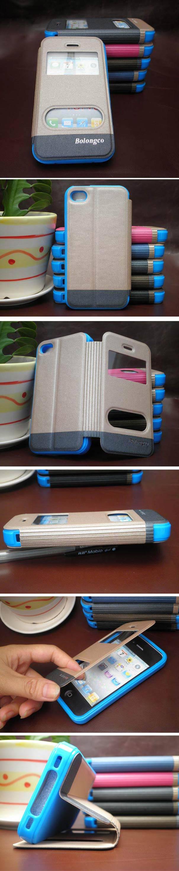 Mais novo caso de proteção para iphone 4 5 6 plus com janelas feitas à mão accerries telefone celular para o iphone caso do telefone móvel