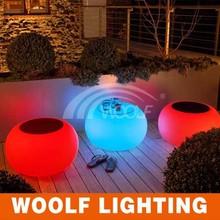 modern illuminated RGB high table LED cube coffee table