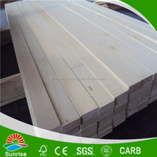 fumigation free poplar lvl boards for packing grade