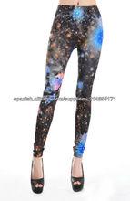 Polainas apretadas atractivas Florid legging galaxia
