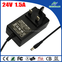 Wall power adapter 24V 1.5A variable frequency AC power supply