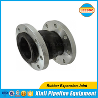 EPDM single ball hydraulic rubber expansion joint