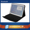 Leather Case 10.1 tablet pc bluetooth keyboard for Samsung galaxy note factory