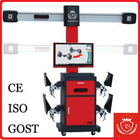High Quality 3D Wheel Alignment Auto Tracking with CE car & truck alignment system