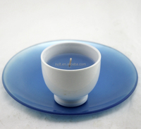 Aroma soy candle /natural soy wax/Soy scented candle in ceramic cup
