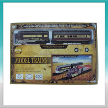 Outdoor electric train play set & model trains for adults