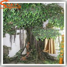 Wholesale customize large artificial decorative tree/artificial ficus tree/fake tree