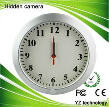 2014 Wall clock nanny cams with hidden camera long time recording
