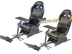 High performance tire racing simulator seat