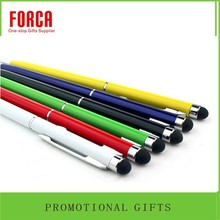 wholesale Wedding gifts for guests ballpoint pen with logo metal ball pen/Thin Ballpoint Touchscreen Stylus Pens