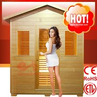 CE, ROHS, ETL high quality and best price Outdoor Steam Sauna House