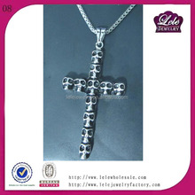 Wholesale Religion cross Pendant in men jewelry