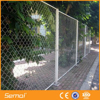 High Quality Chain Link Fence Panel Weave Fabric