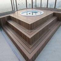 Lesco WPC wood deck board deck plank