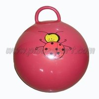 Children's favorite toy sit and bounce jumping ball