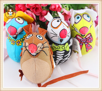 Pet products riginal single fatcat profusion rat series mixed color little mouse toy bit rat pet dog and cat toys