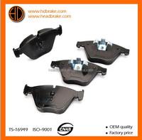 Top quality brake block for BMW X1 OE 34116780711