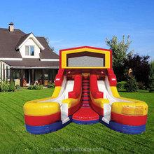 attractive new designed slip inflatable slide Miami