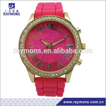 Jewelly case diamond slim silicone fashion sport lady style for Japan Movt
