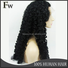 Qingdao factory High quality natural afro hair wig