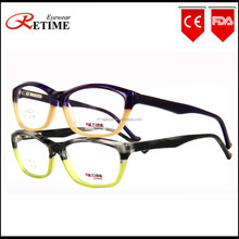 New Model Italian Fashion Unique Design Women Acetate Eyewear Optical Frame (AC-642)