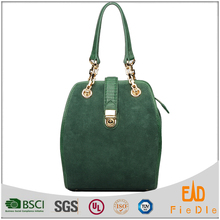 N976-B2101 2016 newest Guangzhou OEM supplier vintage design suede leather fashion handbags ladies