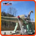 Dinosaurios robots a tamaño real en recrearán parque Jurásico