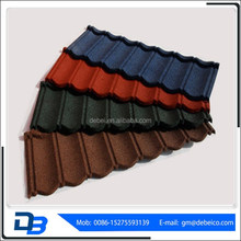 Stone Coated Metal Colorful Roofing Tile/shingle tile /aluzinc roof