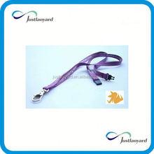 Customized cheap hot sale gifts lanyard usb flash drive