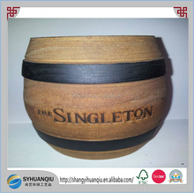 Vintage Wooden Decorative Small Vessel/Barrel For Candy Or Sweets