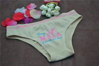 Hot sexy lingerie girl panty briefs shorts seamless underwear for childs