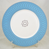 10.5'' used restaurant meat plate dishes,8'' plates with gold trim,white bone china gold plate