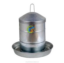 Galvanized chicken feeder or drinker