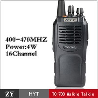 Good Price High Quality HYT TC-700 walkie talkie two-way radio from Shenzhen