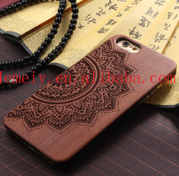 2015 Newest Arrival Cover Back Wooden Logs Cases For Apple iPhone 5S 6S 6S plus