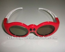 3D DLP Projector Universal Active Shutter 3D Glasses for Theater