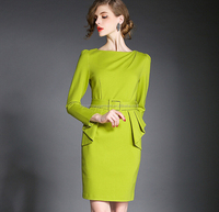2015 girls fashion frock designs the elegant package hip dress,shantou