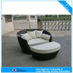 HK-leisure best design outdoor furniture bed FC004+FC002