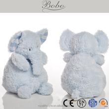 "10"" BLUE ELEPHANT STUFFED PLUSH DOLL"