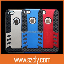 2015 fashionable rocket promotion mobile phone combo cases for iPhone5/5S