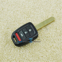 Hot sale car key case HON66 3button with panic for Honda 2500AHLIK61T remote key cover
