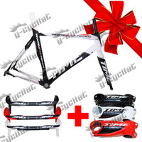 IN STCOK Time RXRS Ulteam red carbon frame,road bicycle racing frameset Time frame+fork+seatpost+clamp+headset+gift time bottle