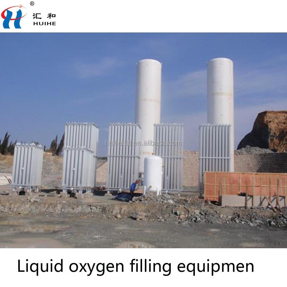 oxygen tank filling machine