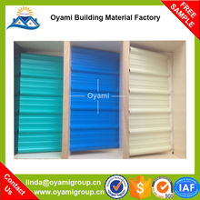 Soundproof 2 layers corrugated sheets roofing for construction