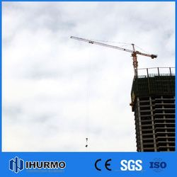 Popular manufacturer telescopic cranes qtz50 tower crane