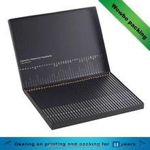 hot sale creative black cardboard paper pencil packing box