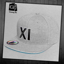 Small size children felt embroidery snapback hats wholesale funny snapback cap