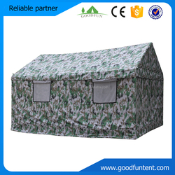 Military tent making polyester 600D flame retardant oxford camping tent