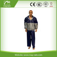 Plastic Rain suit for motocycle