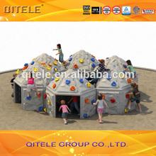 productos nuevos pared de escalada de piedra al aire libre para niños